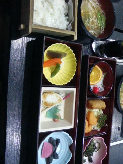 二日目の昼食